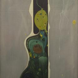 1969 Figura traspasando otro espacio 116 x 89
